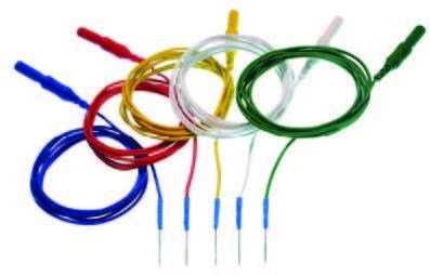 Скальповые и подкожные игольчатые электроды